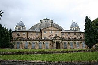 Devonshire Dome Building in Buxton, Derbyshire