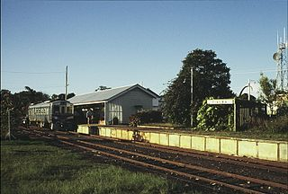 Hervey Bay (Urangan) railway line
