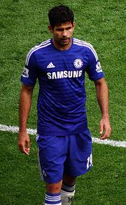 Diego Costa en 2014.