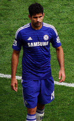 File photo of Diego Costa Image: Ben Sutherland.