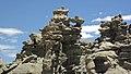 Differentially cemented & eroded sandstone (member C, Uinta Formation, Eocene; Fantasy Canyon, Utah, USA) 9 (24726632772).jpg
