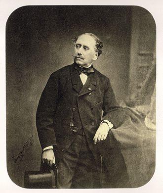 Dimitrios Kallergis - Kallergis in Paris in 1865, photographed by André-Adolphe-Eugène Disdéri.
