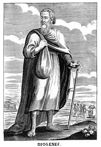 A 17th century depiction of Diogenes Diogenes in Thomas Stanley History of Philosophy.jpg
