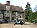 Disabled transport outside Anglesey Abbey - geograph.org.uk - 1764780.jpg