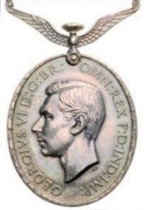 Distinguished Flying Medal, George VI obverse