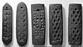 Divination plaques of wood, Mashona, Southern Zimbabwe. Wellcome M0017880.jpg