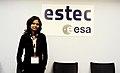 Divya from India at ESTEC.jpg