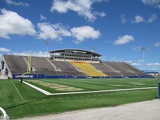 Dix Stadium - West grandstand in 2014