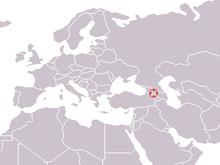 Dmanisi Georgia Map.Dmanisi Skull 5 Wikipedia