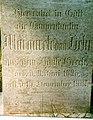 Dobbertin Klosterfriedhof Margarete von Behr Reihe 4 Platz 10 1997-07.jpg