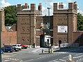 Dockyard Main Gate, Dock Road, Brompton - geograph.org.uk - 518042.jpg