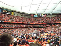 Basketball in the Carrier Dome
