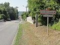 Dompcevrin (Meuse) city limit sign.JPG