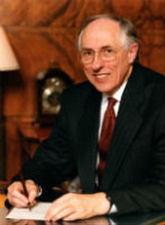 Donald Dewar - Image: Donald Dewar First Minister