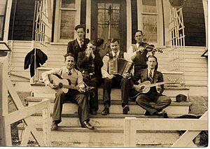 "Donn Reynolds - With his band as ""The Yodeling Ranger"" (1937)."