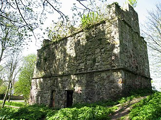 St. Mary's Priory (Lothian) - Doocot in the grounds of the ruined abbey