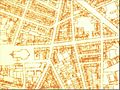 Doornzeledries, Detail from map of ghent by prof. Dumont in 1935.jpg