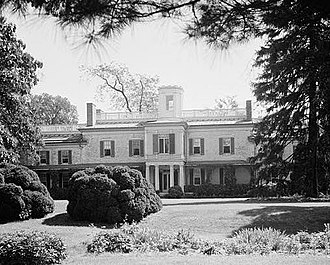 Charles Carroll of Carrollton - Doughoregan Manor, the Carroll family seat, now a National Historic Landmark