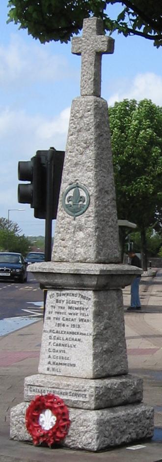 Downend, South Gloucestershire - Downend war memorial