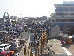 Innenstadt von Accra