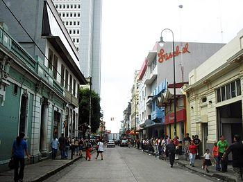 Downtown of San Jose%2C Costa Rica