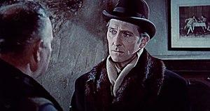 Schauspieler Peter Cushing