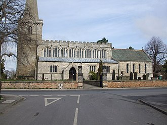 Drax, North Yorkshire - Image: Drax, The Church of St Peter and Paul geograph.org.uk 1219854