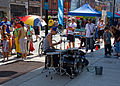 Drummer Busking (8028270249).jpg