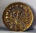 Ducato di benevento, emissione aurea di arichis II, zecca di benevento, 758-774, 01.JPG