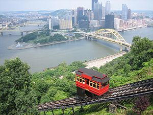Duquesne Incline from the top