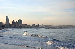 Durban Beachfront Skyline көрінісі
