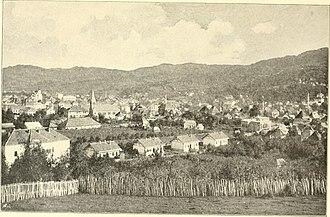 Tuzla - Tuzla town, 1897