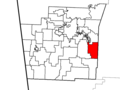 Durham Township, Washington County, Arkansas.png