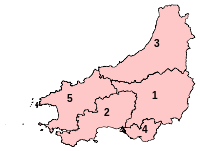 Parliamentary constituencies in Dyfed 2010