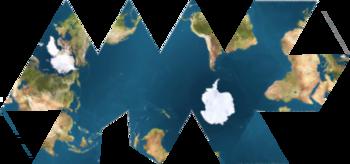 Esta red muestra oceanos conectados rodeando la Antartida.
