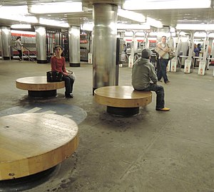 68th Street–Hunter College (IRT Lexington Avenue Line) - Mezzanine