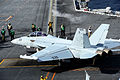 EA-18G of VAQ-129 on USS Carl Vinson (CVN-70) in 2013.JPG