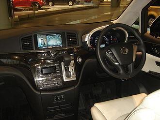 Nissan Elgrand - Nissan Elgrand interior (E52)