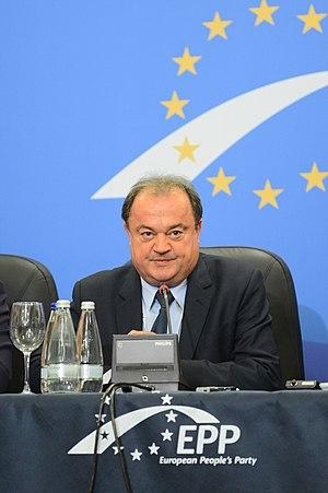 Vasile Blaga - Vasile Blaga during the EPP Congress of 2012