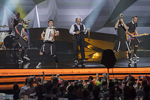 Koza Mostra - Image: ESC2013 Greece 02 (crop)