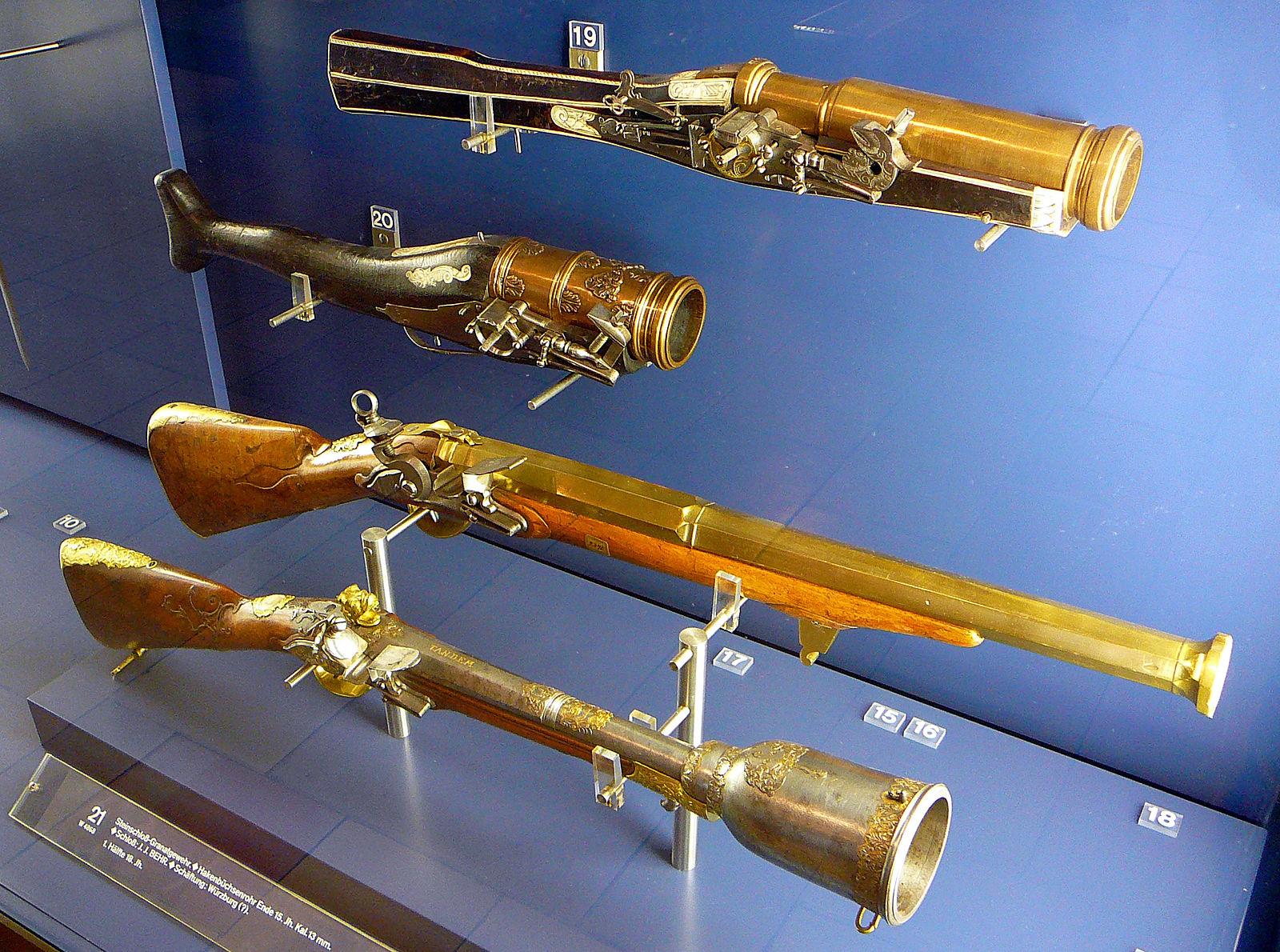 Первые винтовки картинки