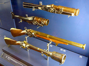 Hand mortar - Some German hand mortars from the 16th centuries and 18th centuries