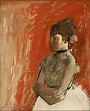 Edgar Degas - Ballet Dancer with Arms Crossed - Google Art Project.jpg