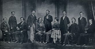 The Courier-Journal - Editorial staff of The Courier-Journal, 1868.