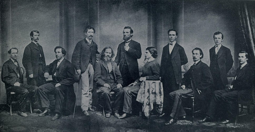 "Editorial Staff of ""The Courier-Journal"" 1868"