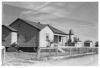 "Ediz Hook Tower and Dwelling ""B"", July 1944, ca. 1943 - ca. 1953 - NARA - 298194.jpg"