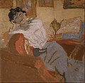 Edouard Vuillard - Madame Hessel au Sofa (Madame Hessel on the Sofa) - Google Art Project.jpg