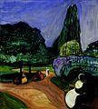 Edvard Munch - Summer Night in Studenterlunden (1899).jpg