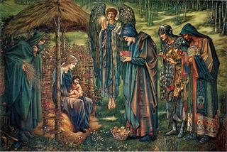 painting by Edward Burne-Jones