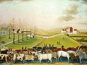 The Cornell Farm - Image: Edward Hicks The Cornell Farm